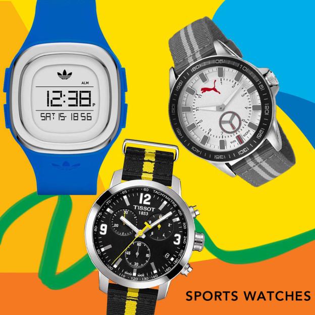 Sports watches for Rio de Janeiro