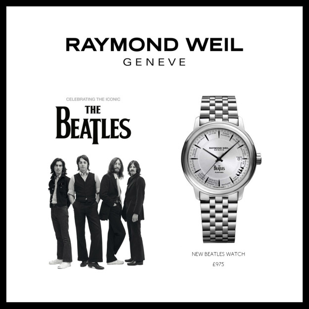 The Beatles Limited Edition Maestro Watch by Raymond Weil