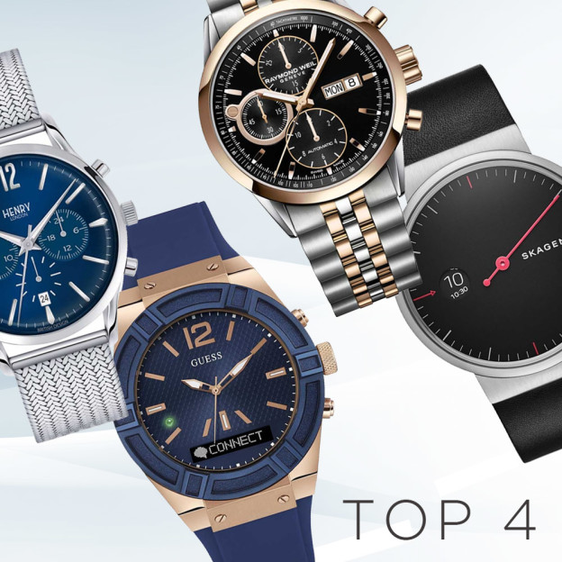 The latest styles of men's watches