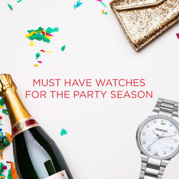 The watches you'll want on your wrist during party month