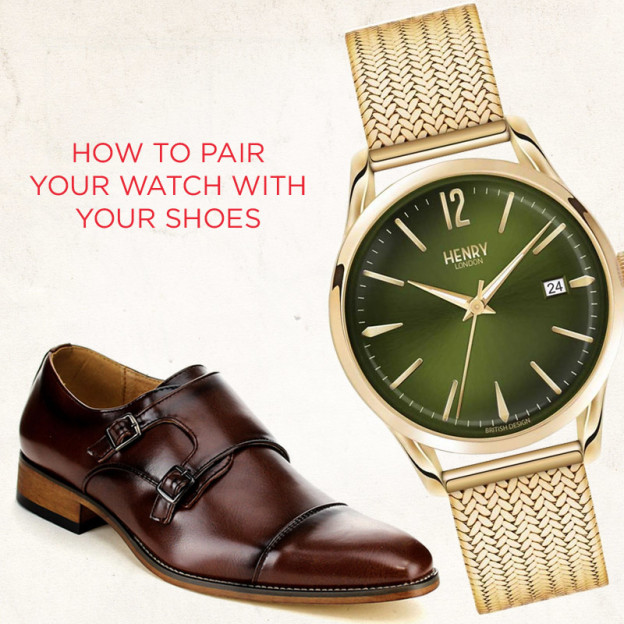 How to match your watch to your shoes