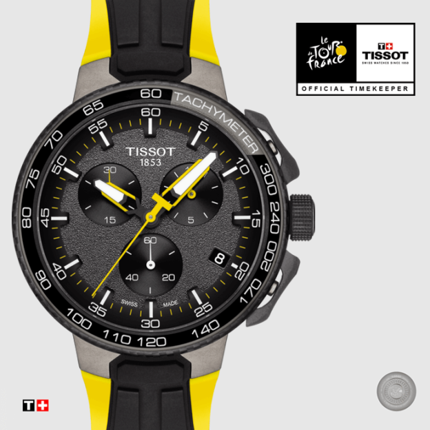 Discover the new Tissot Tour de France watch!