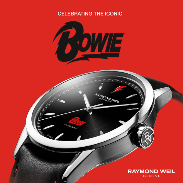 Limited Edition David Bowie Watch by Raymond Weil