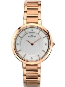 Accurist rose gold watch