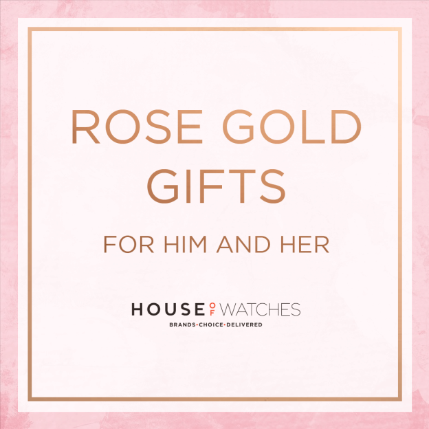 Valentines Day For Him And Her - Rose Gold Watches